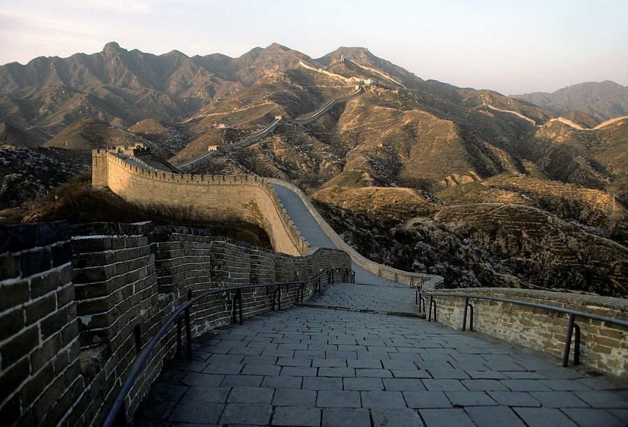 Great Wall Of China Photograph - Great Wall Of China by Steve Williams