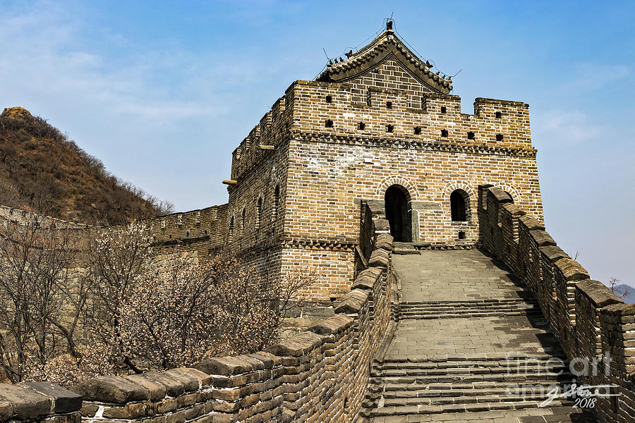 Great Wall Of China Photograph - Great Wall Tower by Jeffrey Stone