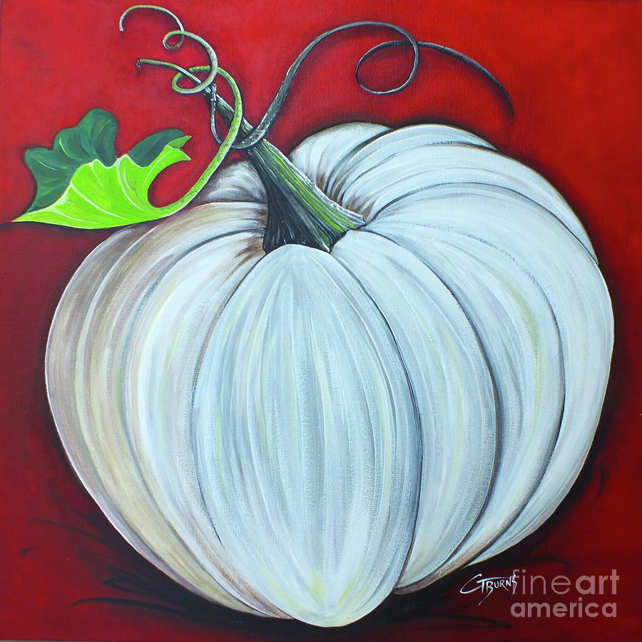 Great White Pumpkin by GG Burns