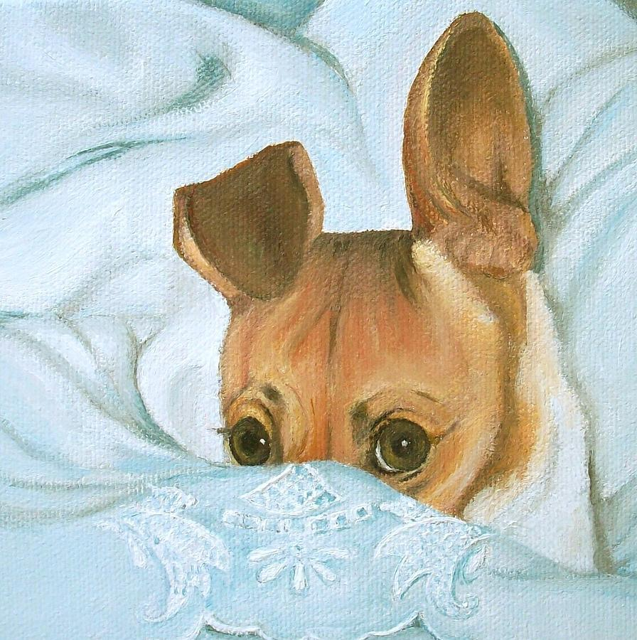 Dog Painting - Greatness by Irene Corey