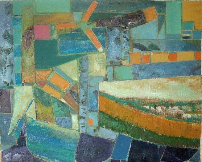 Landscape Painting - Greece No. 2 by Mauro Longordo