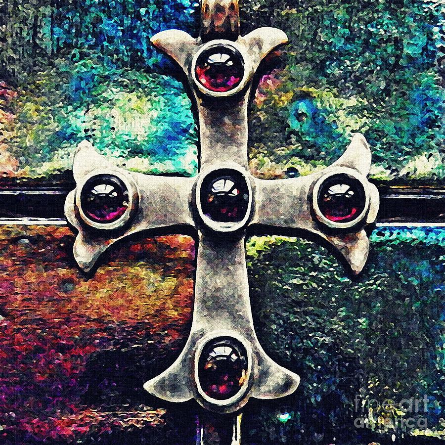 Cross Photograph - Greek Cross 3 by Sarah Loft