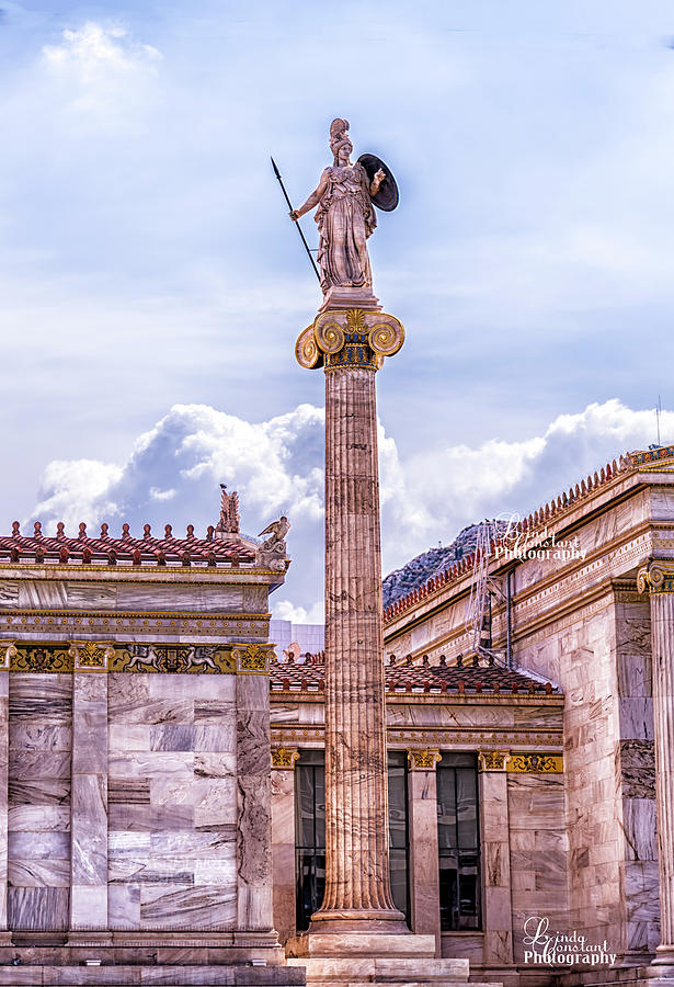 Greek God by Linda Constant