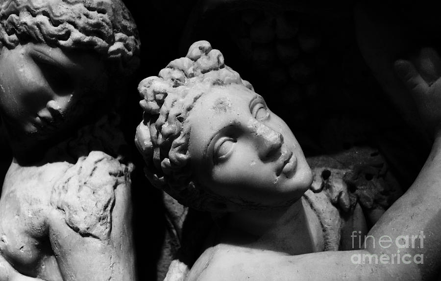 Greek Photograph - Greek Maiden by Glennis Siverson