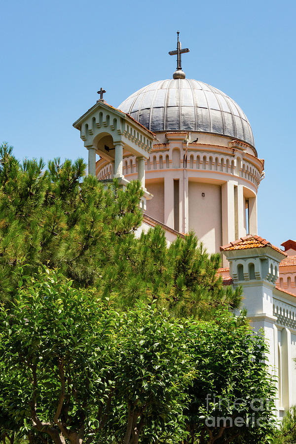 Princes Islands Photograph - Greek Orthodox Church by Bob Phillips