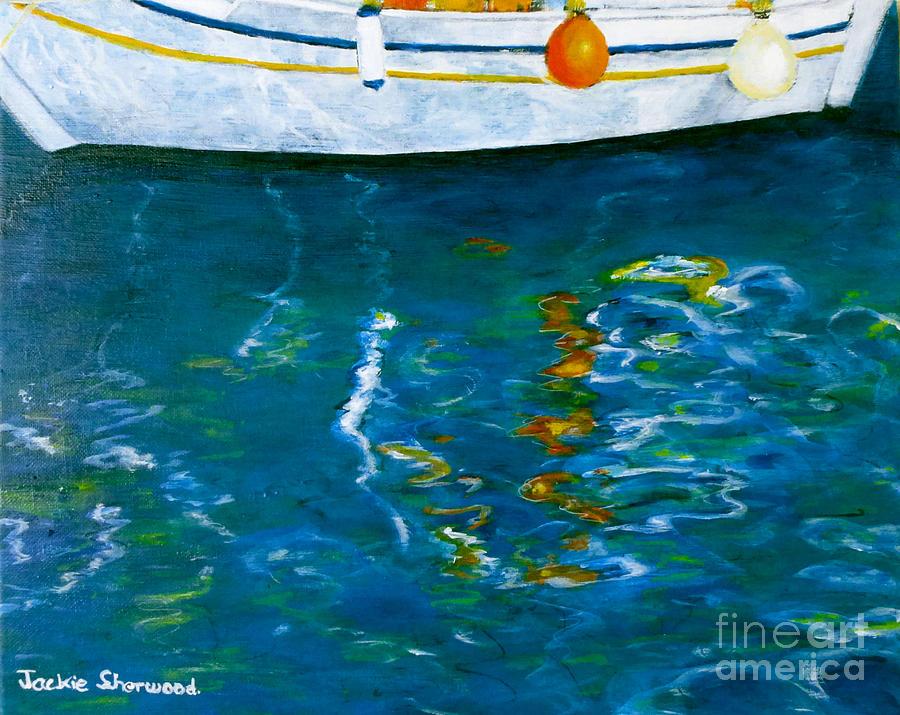 Greek Reflections by Jackie Sherwood