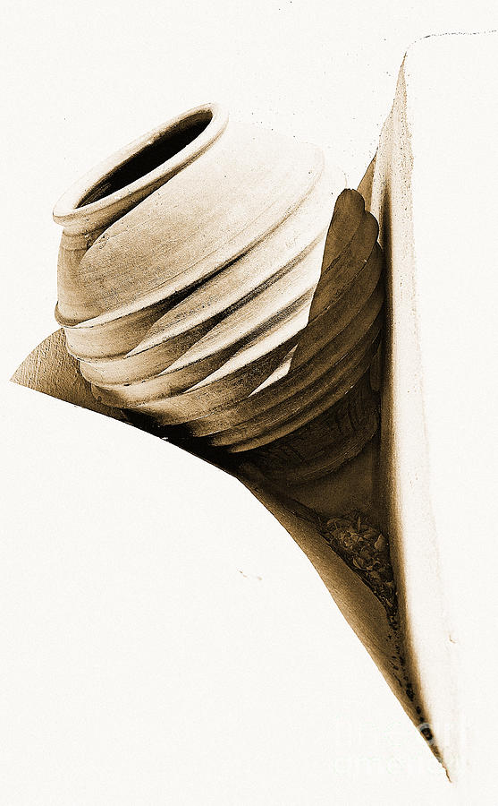 Abstract Photograph - Greek Urn by Meirion Matthias