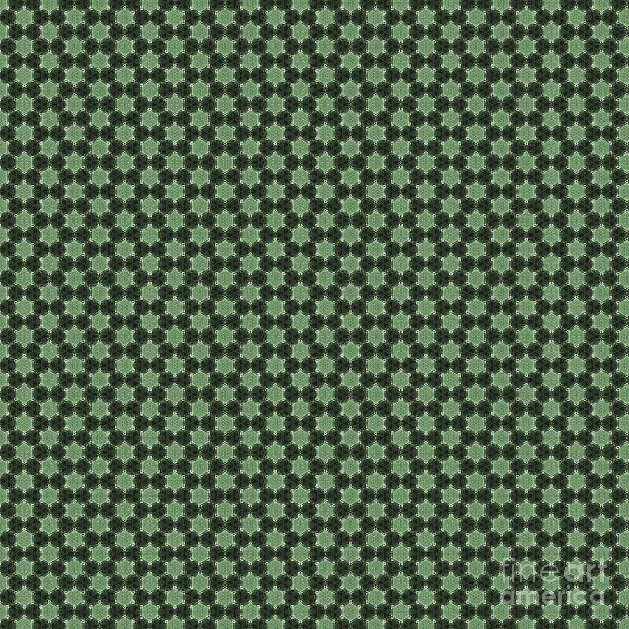 Pattern Digital Art - Geometric Flower Pattern 3 by Alisha at AlishaDawnCreations
