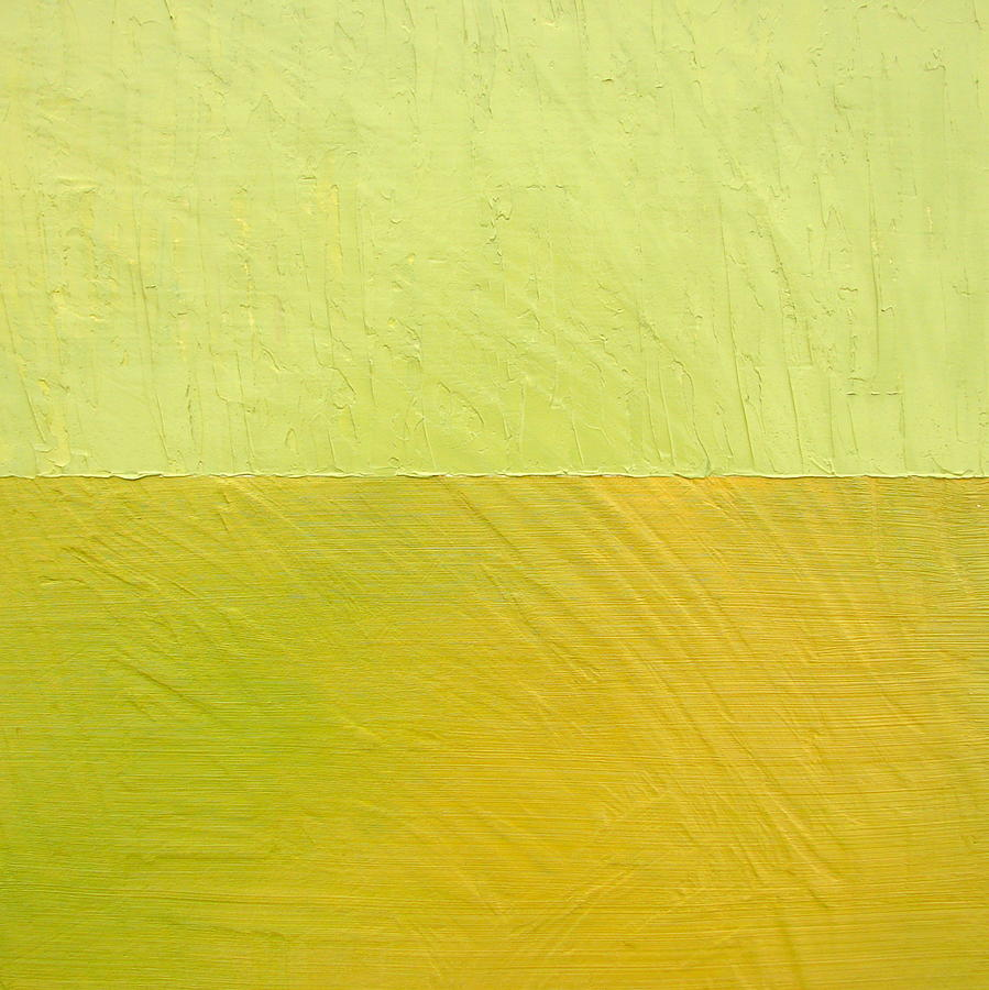 Pea Painting - Green And Greenish by Michelle Calkins