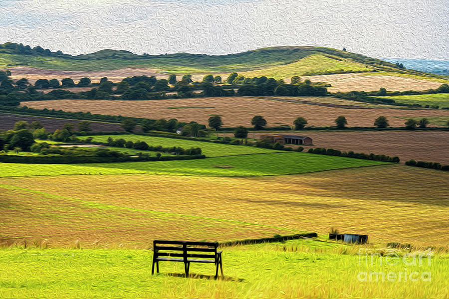 Green And Pleasant Land Photograph