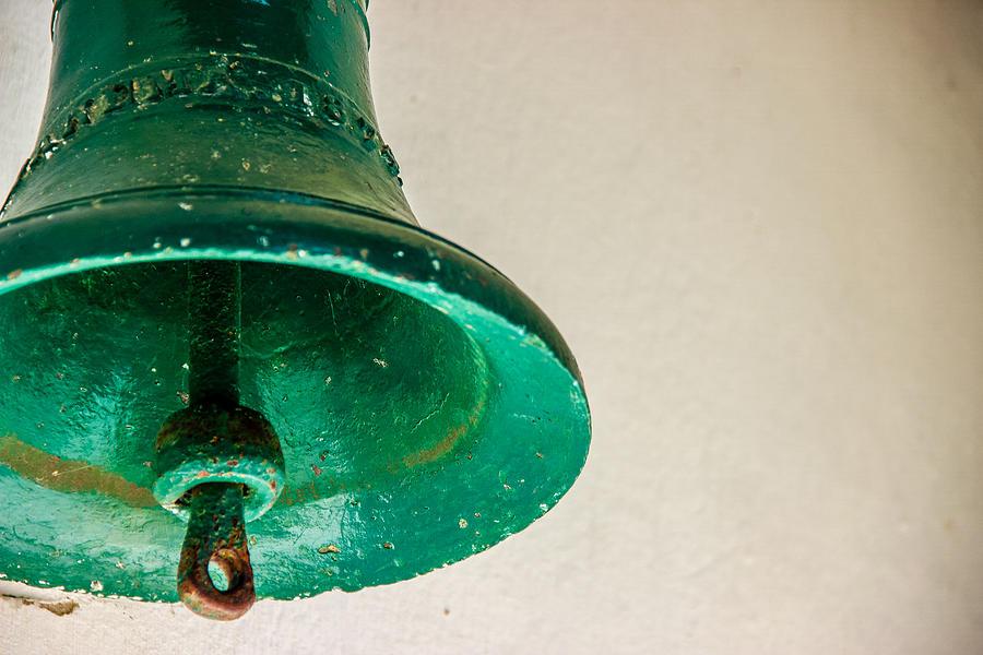 Green Photograph - Green Bell by Fabio Giannini