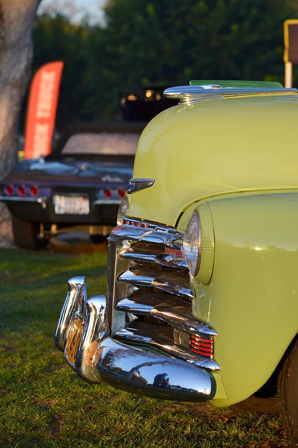 Green Chevy Photograph by Dean Ferreira
