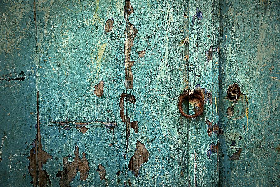 Islam Digital Art - Green Door. Essaouira. Morocco by Carlos Perez Muley