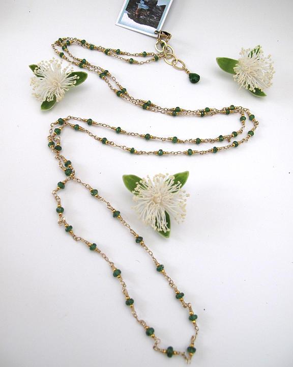 Goddess Jewelry - Green Goddess Strand by Adove  Fine Jewelry
