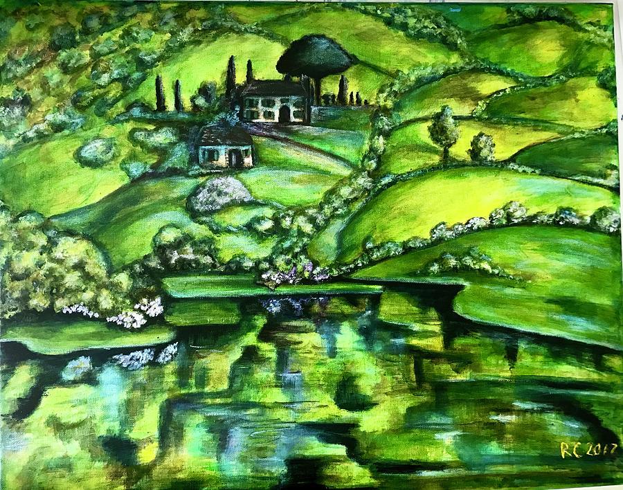 Green Hills by Rae Chichilnitsky