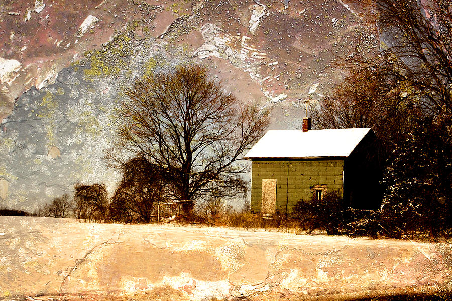 Landscapes Photograph - Green House Dream by Kelly  Burke