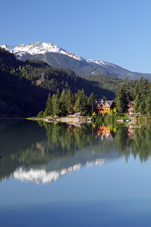 Green Photograph - Green Lake Whistler  by Pierre Leclerc Photography