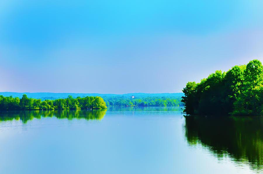 Green Lane Photograph - Green Lane Reservoir by Bill Cannon