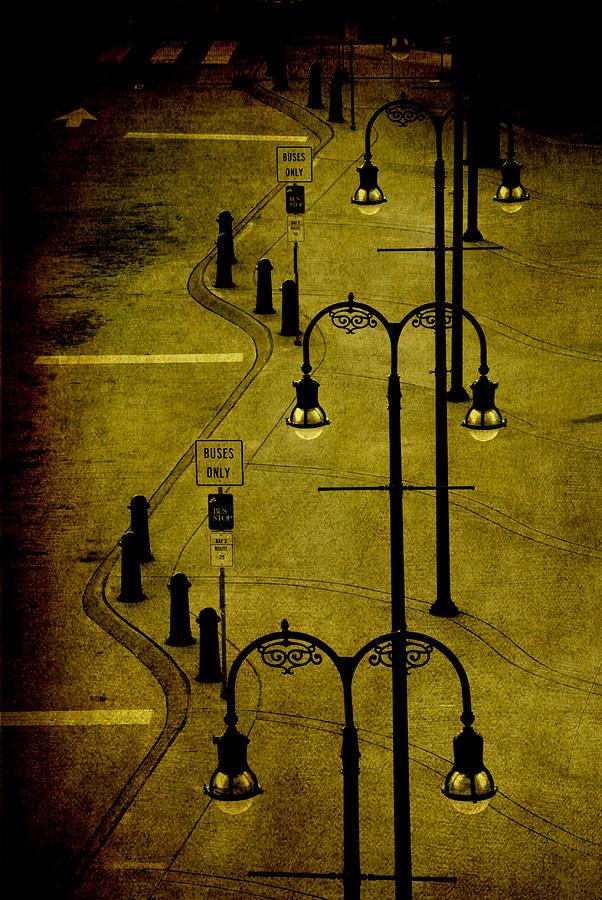 Lantern Photograph - Green Light by Susanne Van Hulst