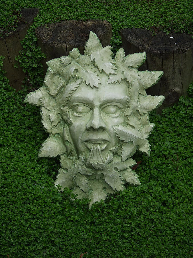 Green Man Sculpture   Green Man By Andrew Boyce