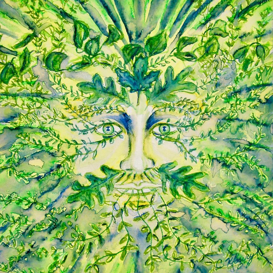 Green Man by Christine Kfoury