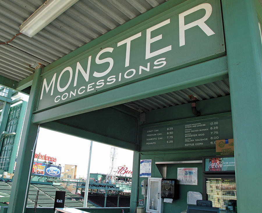 Green Monster Concession Stand by Barbara McDevitt