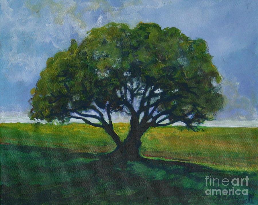 Oak Painting - Green Oak by Michele Hollister - for Nancy Asbell