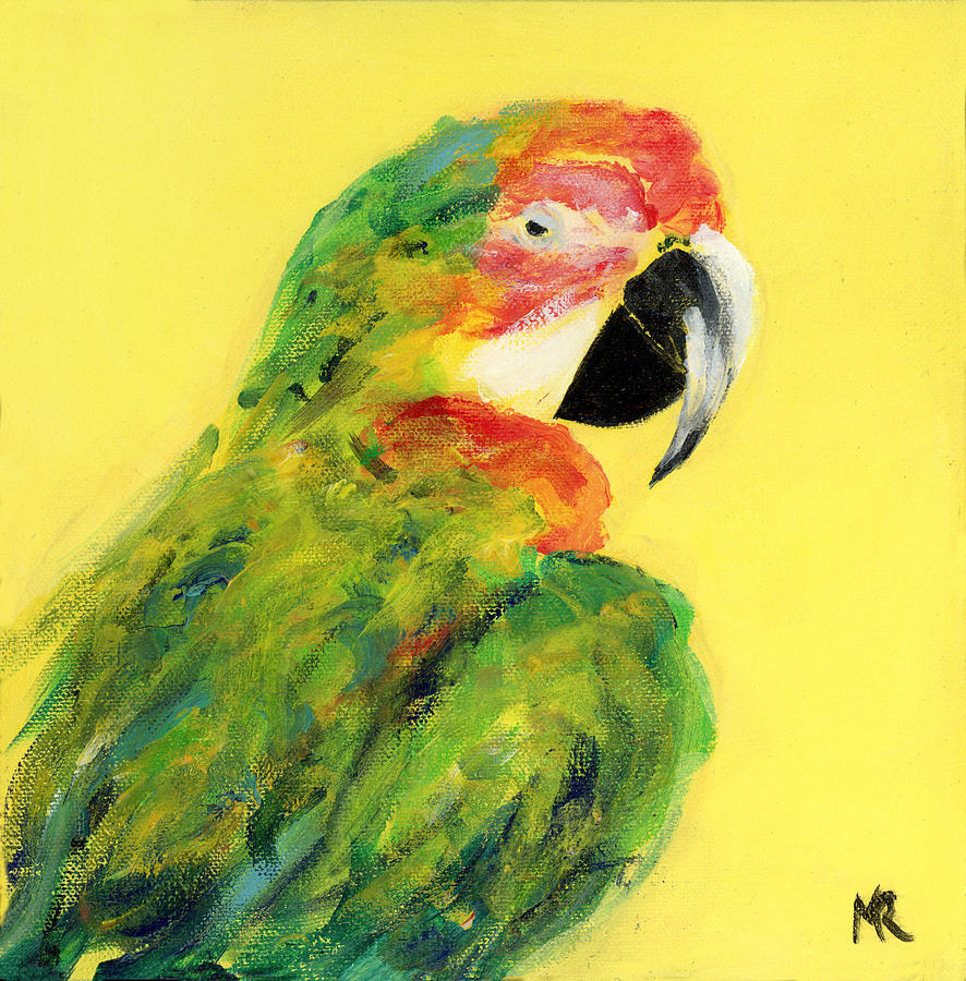 Green Parrot by Michelle Reeve
