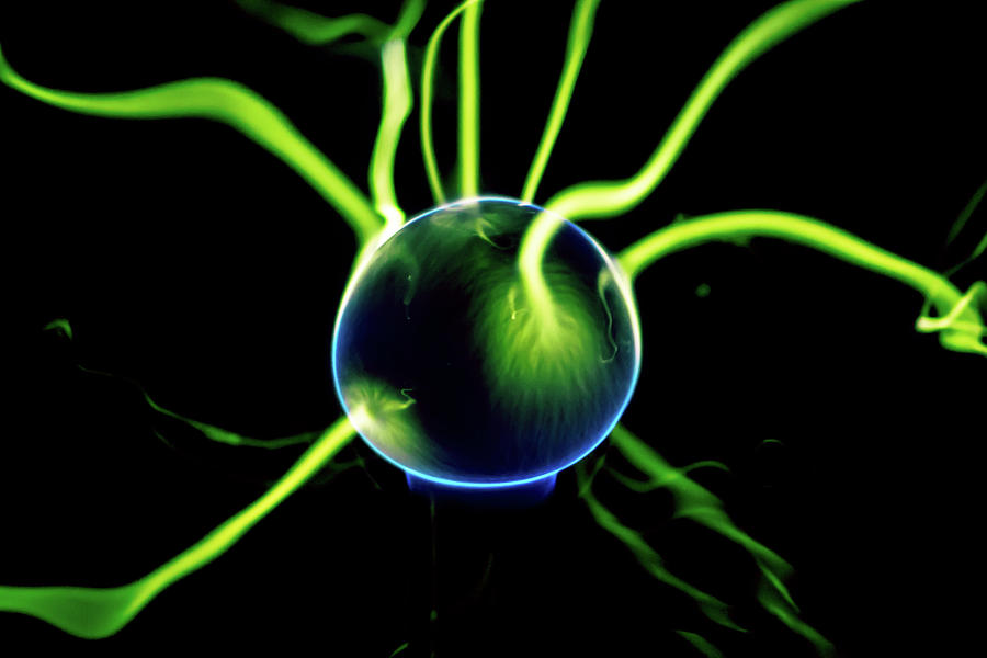Green Plasma Blast by Tyson Kinnison