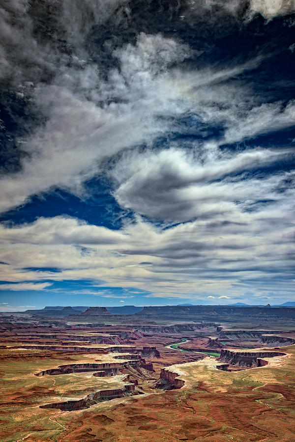 Green Photograph - Green River Overlook by Rick Berk