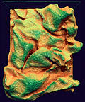 Sculpture Painting - Green Sculpture 1 by Marshall Okin
