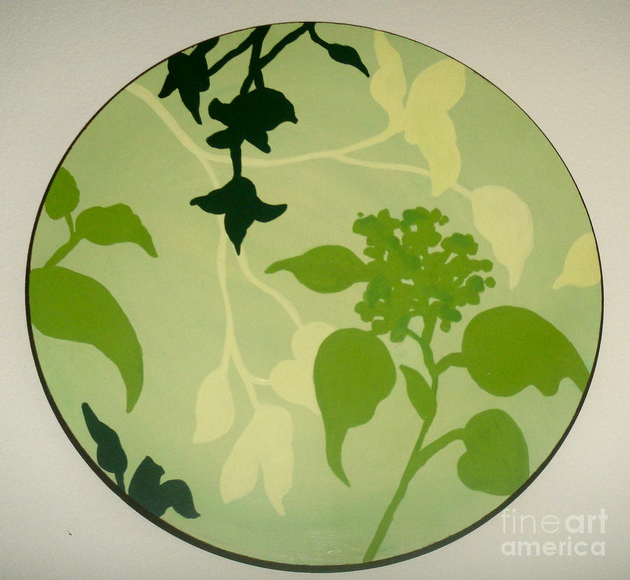 Nature Painting - Green Serene by Dani Marie