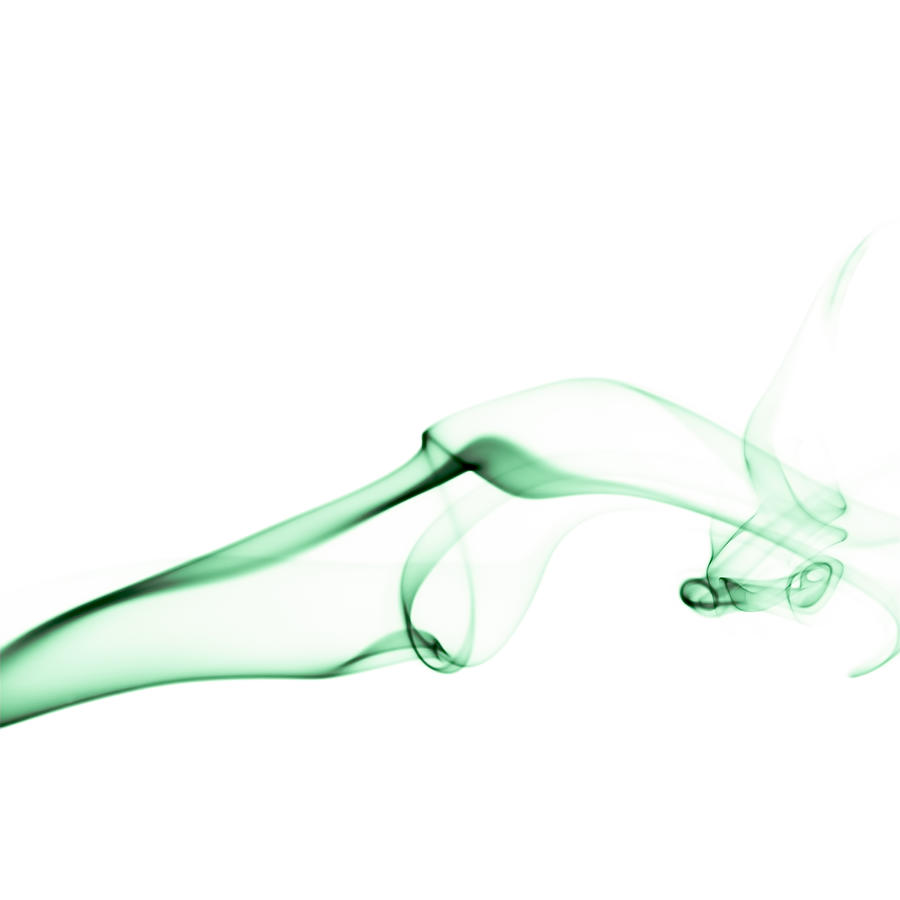 Green Smoke Photograph