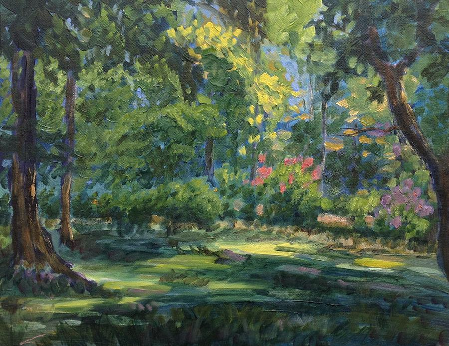 Green Summer Painting