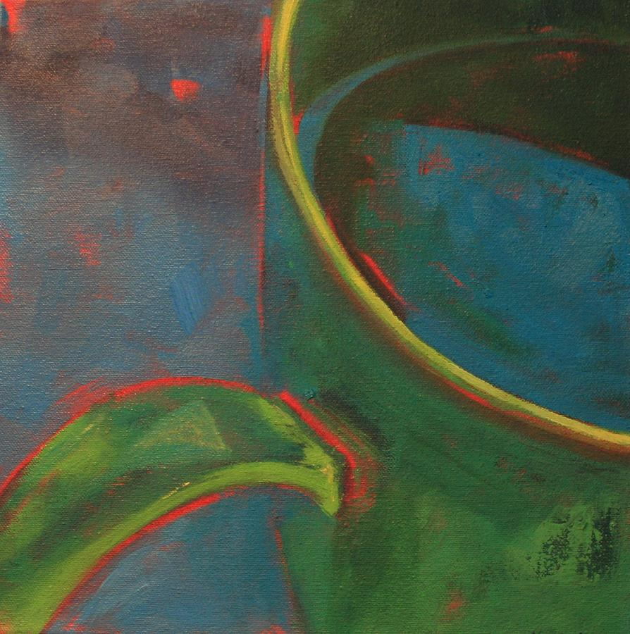Still Life Painting - Green Tea by Tina Marie Rothwell