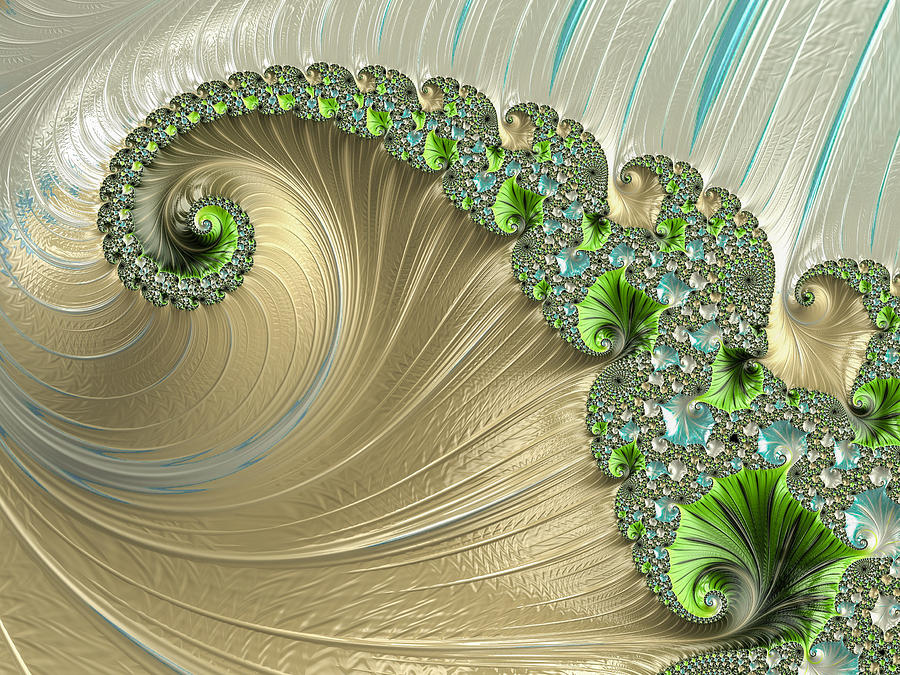 Green Wave by Constance Sanders