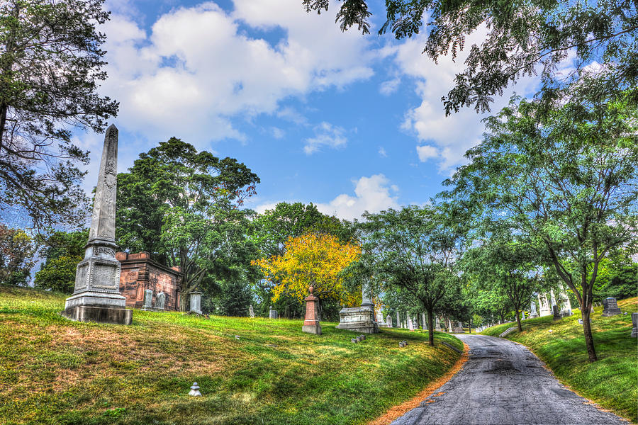 Green-wood Cemetery 32 Photograph