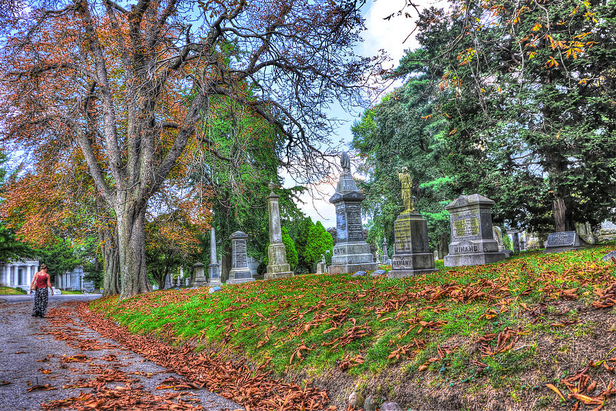 Green-wood Cemetery 45 Photograph