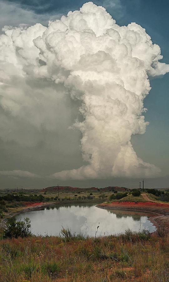 Thunderstorm Photograph - Greenbelt Storm by Scott Cordell