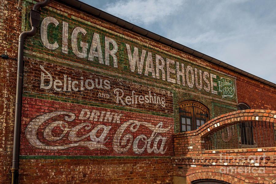 Greenville Cigar Warehouse Photograph