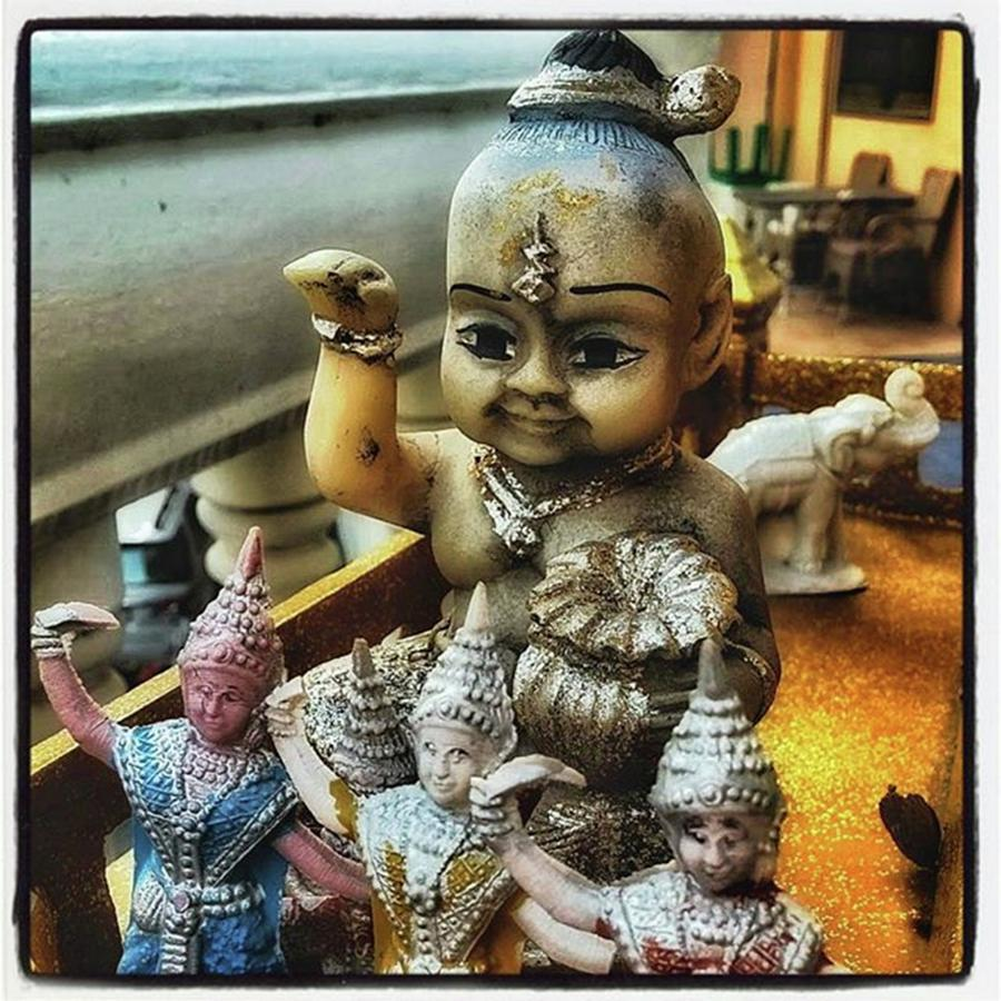 Animism Photograph - Greetings From Thailand. These Jolly by Mr Photojimsf