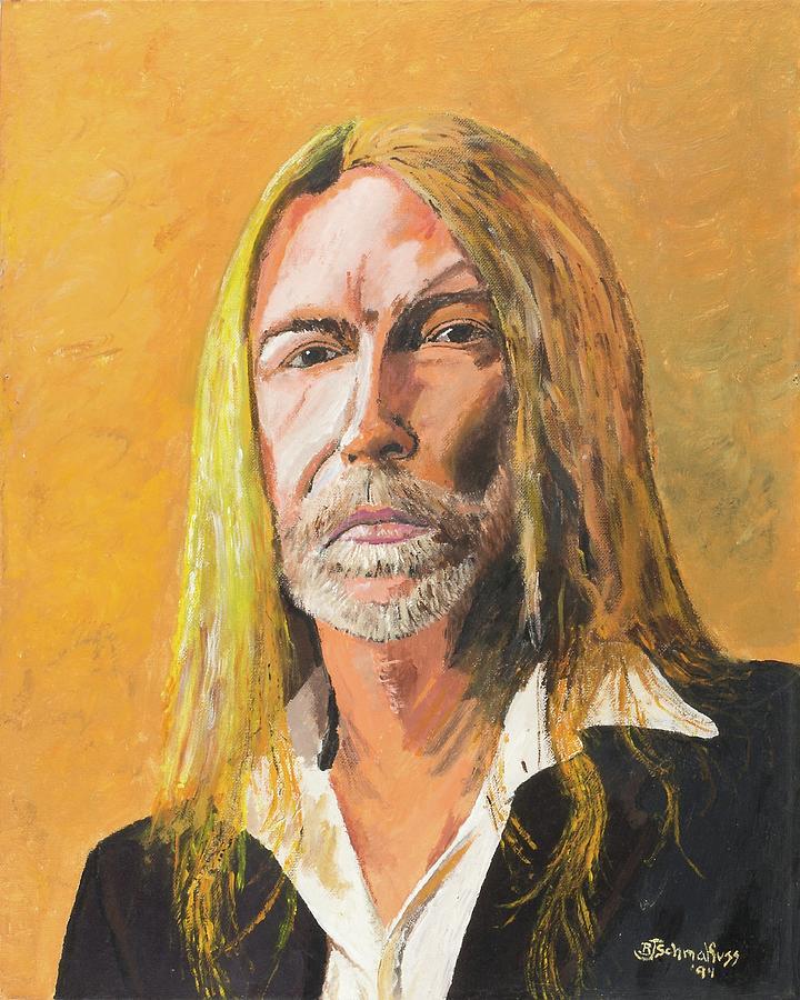 Gregg Allman Painting - Gregg Allman by Bruce Schmalfuss