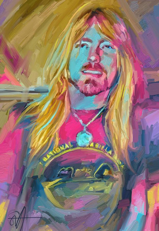 Gregg Digital Art by Scott Waters