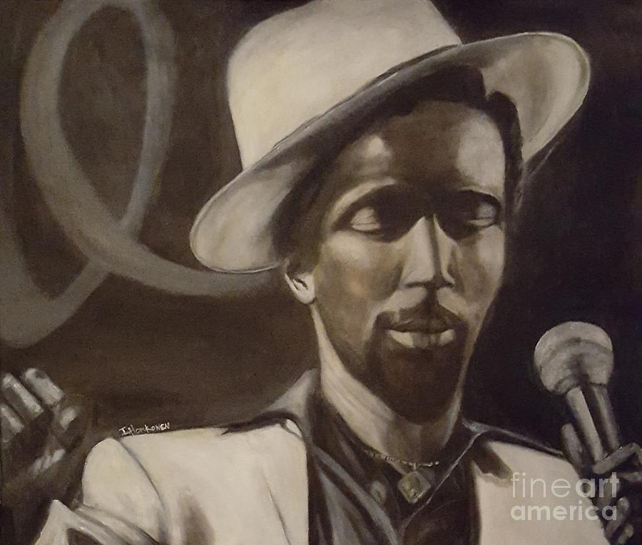 Gregory Isaacs Painting by Isabel Honkonen