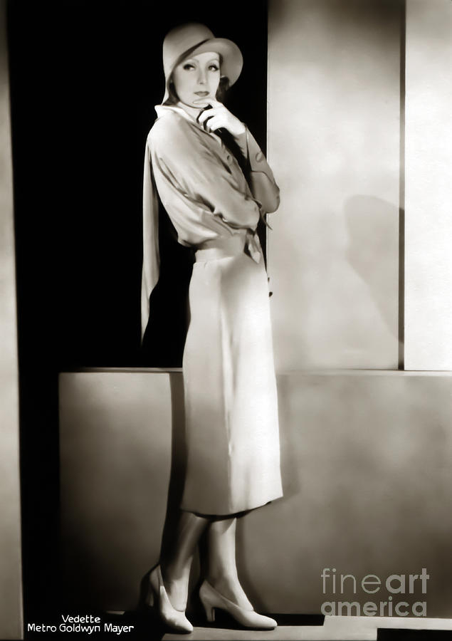Greta Garbo Photograph - Greta Garbo by Sad Hill - Bizarre Los Angeles Archive