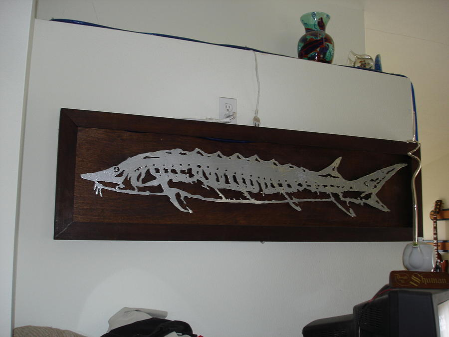 Gretchens Sturgeon Mixed Media by Richard Shuman