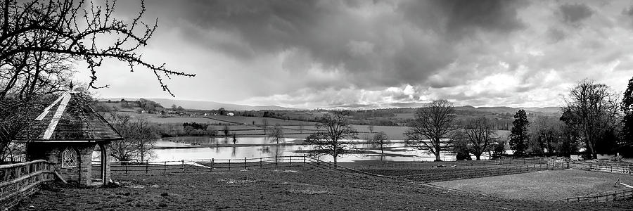 River Severn Photograph - Grey Day by Steve Elliott