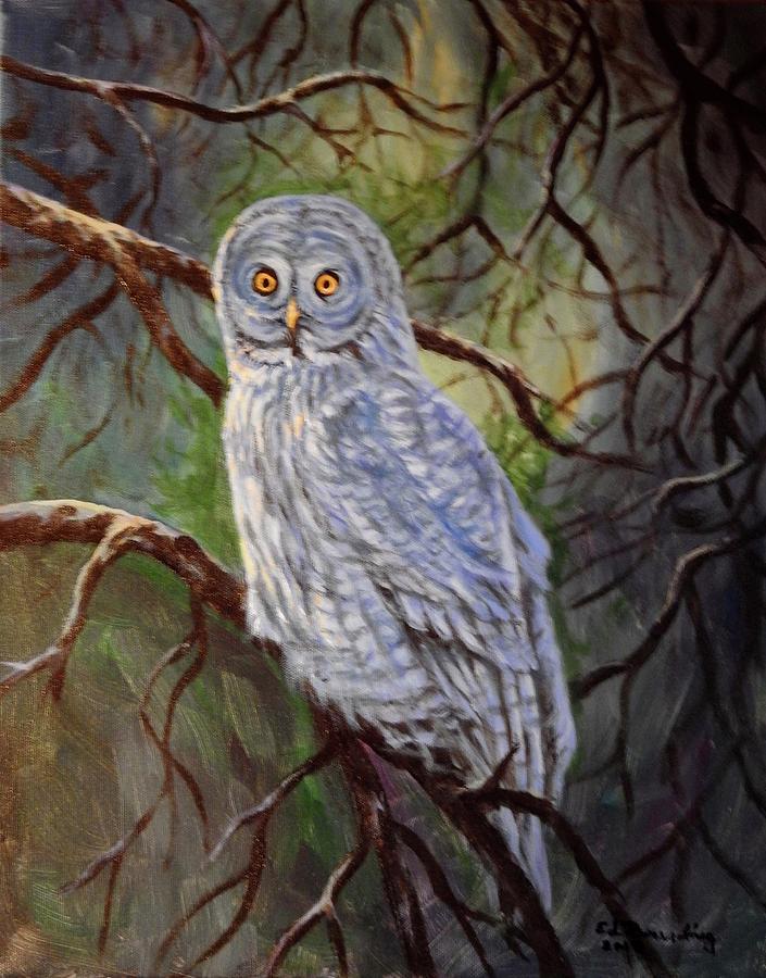 GREY OWL by Ed Breeding