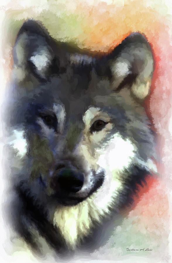 Grey Wolf by Barbara A Lane