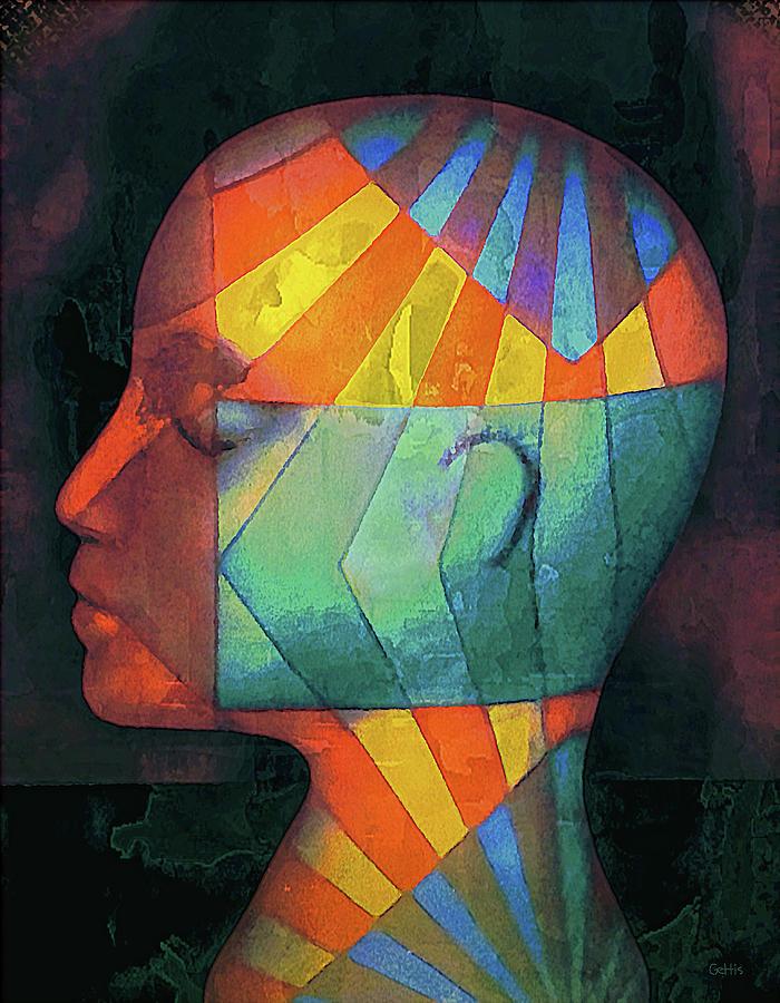 Grid Head 2 by Jeff Gettis